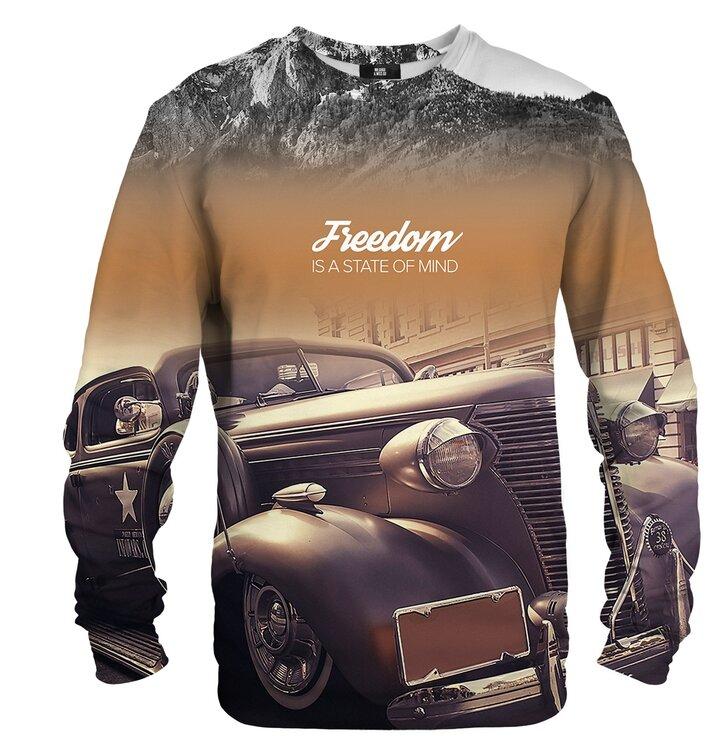 Sweatshirt ohne Kapuze Freedom