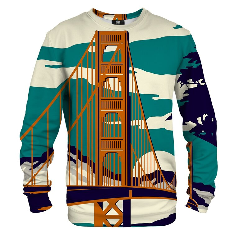 Pulover brez kapuce Golden Bridge