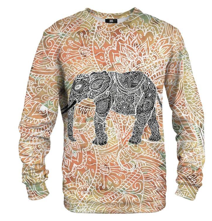 Суичър без качулка Индийски слон