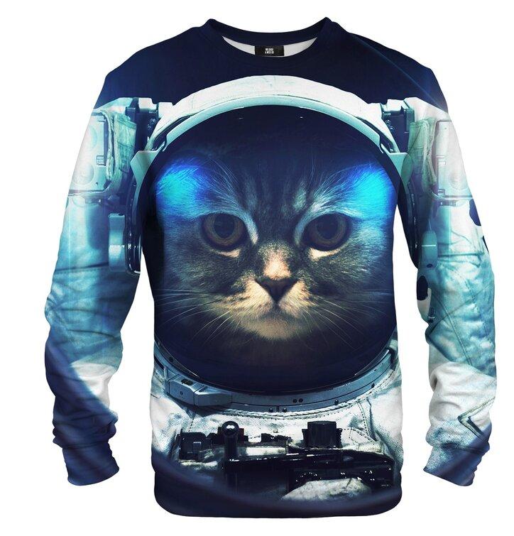 Pulover brez kapuce Astronavt mačka