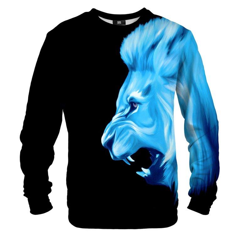 Mikina bez kapucne Ľadový lev