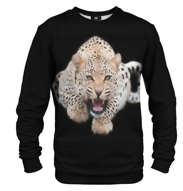 Pulover brez kapuce Leopard