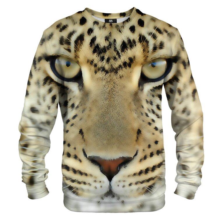 Pulover brez kapuce Leopardove oči