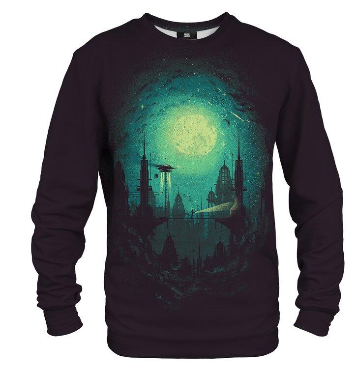 Sweatshirt ohne Kapuze Die Stadt der Zukunft