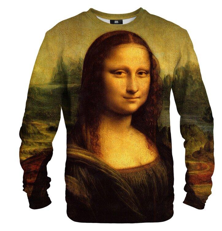 Mikina bez kapucne Mona Lisa