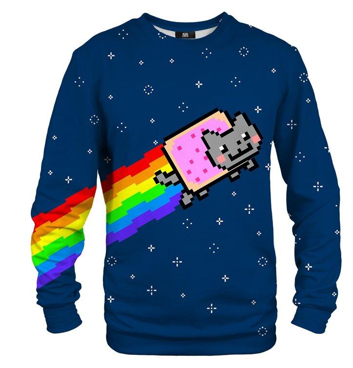 Dukserica bez kapuljače Nyan cat