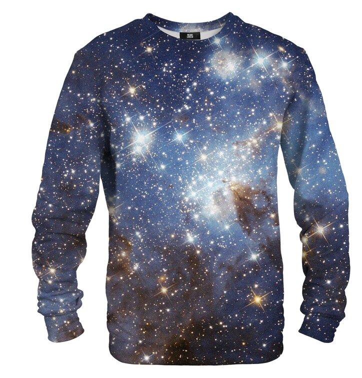a tökéletes és egyedi ruházathoz Pulóver kapucni nélkül Csillagos ég 9c810fd58d