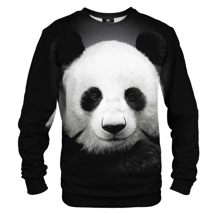 Mikina bez kapucne Panda