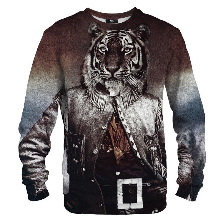Pulover brez kapuce Polkovnik tiger