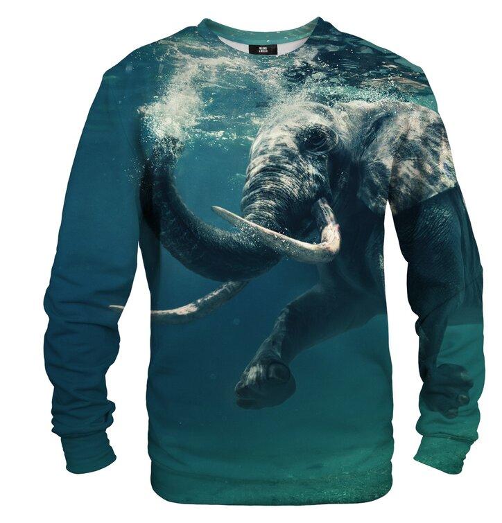 Dukserica bez kapuljače Slon pod vodom