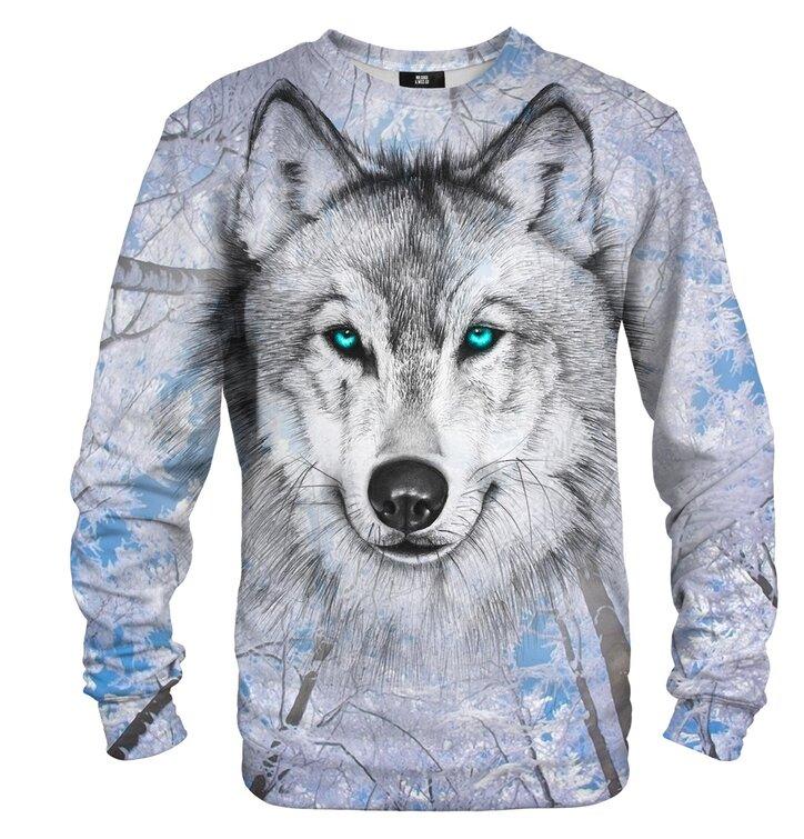 Mikina bez kapuce Vlk