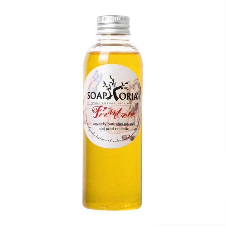 Organický tonizačný masážny olej proti celulitíde