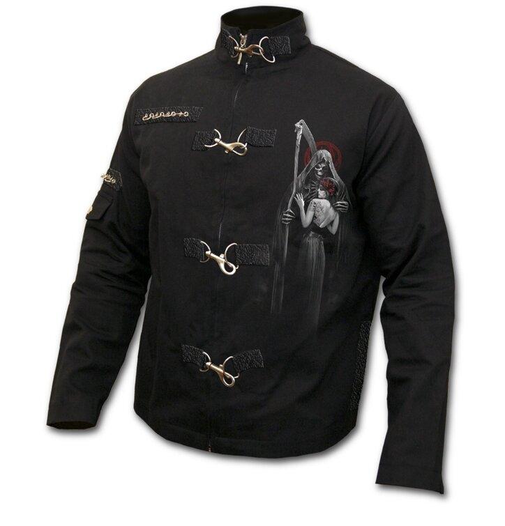 Orient Jacke Denim mit dem Motiv Toter Kuss