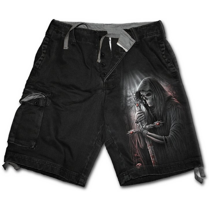 Men's Shorts wth design Knight of Death