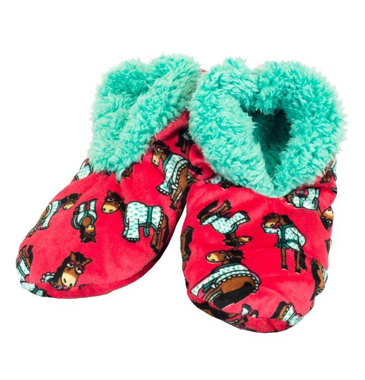 7ae94d4ea3e08 Plyšové papuče Náročné rána | Dedoles