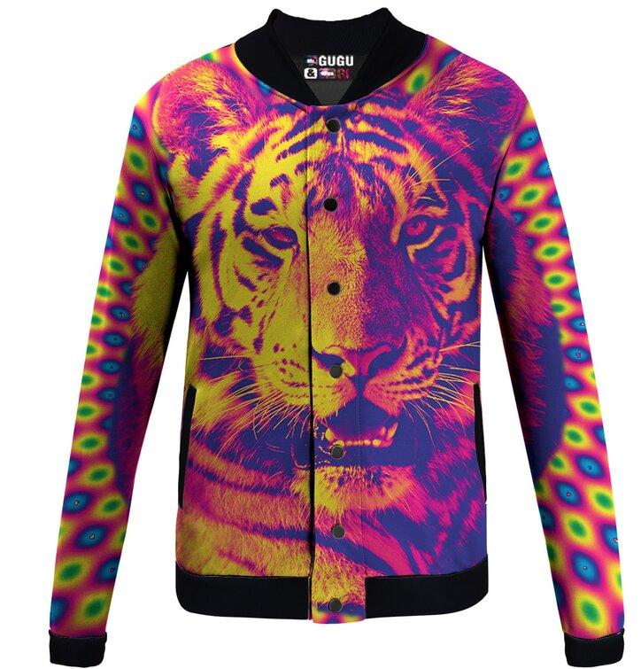 Prechodná baseballová bunda Šialený tiger