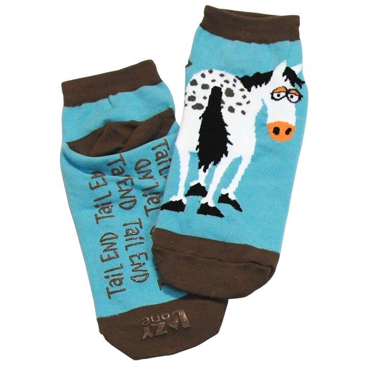 Protiskluzové ponožky Zadní konec