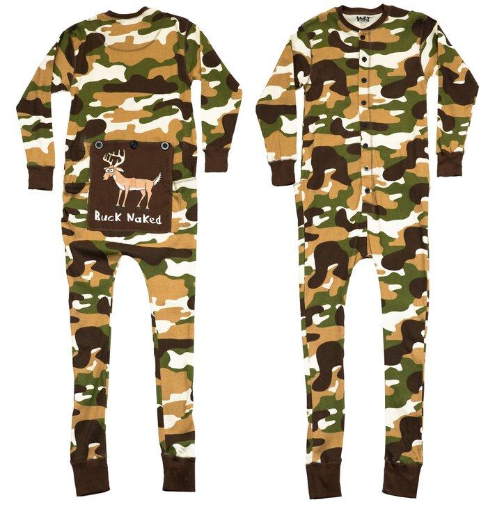 9b65f4b71f72 Výprodej Pyžamový maskáčový overal