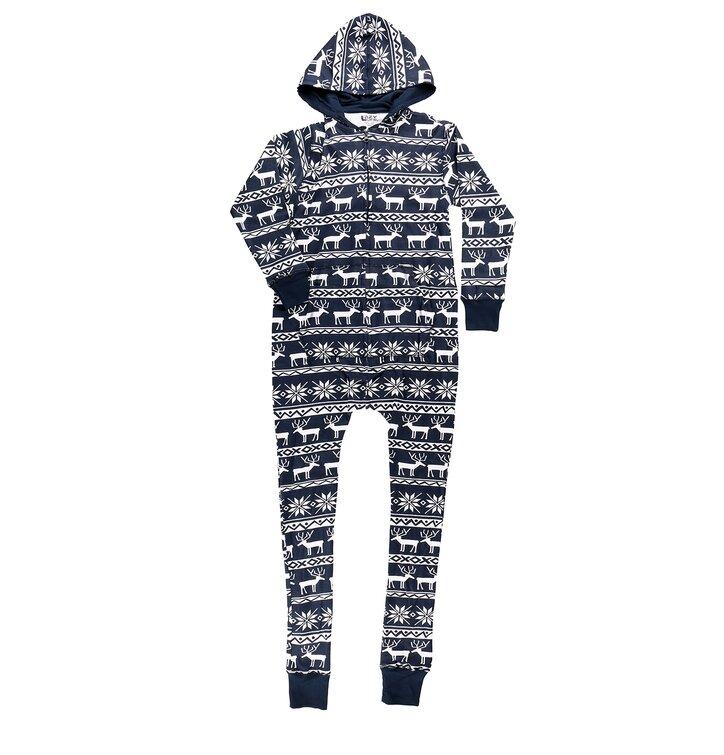 Lifestyle fotó Kezeslábas pizsama Karácsonyi motívummal b63f372f77