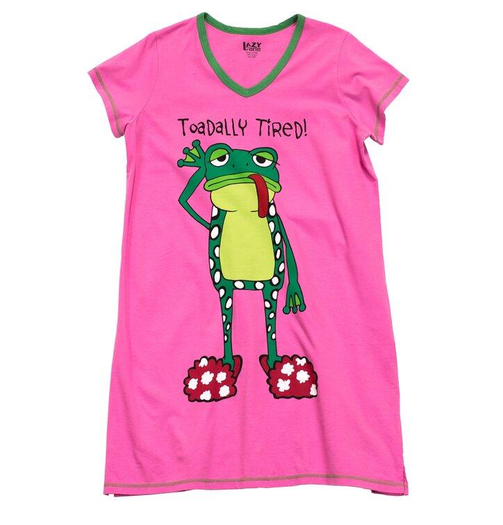 42107ca7c920 Hľadáte originálny a nezvyčajný darček  Obdarovaného zaručene prekvapí  Ružová dámska nočná košeľa Totálne unavená · Výnimočný darček od Dedoles  Ružová ...
