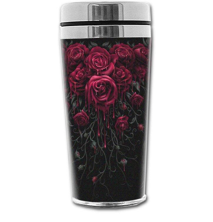 Termopohár s motívom Krvavé ruže