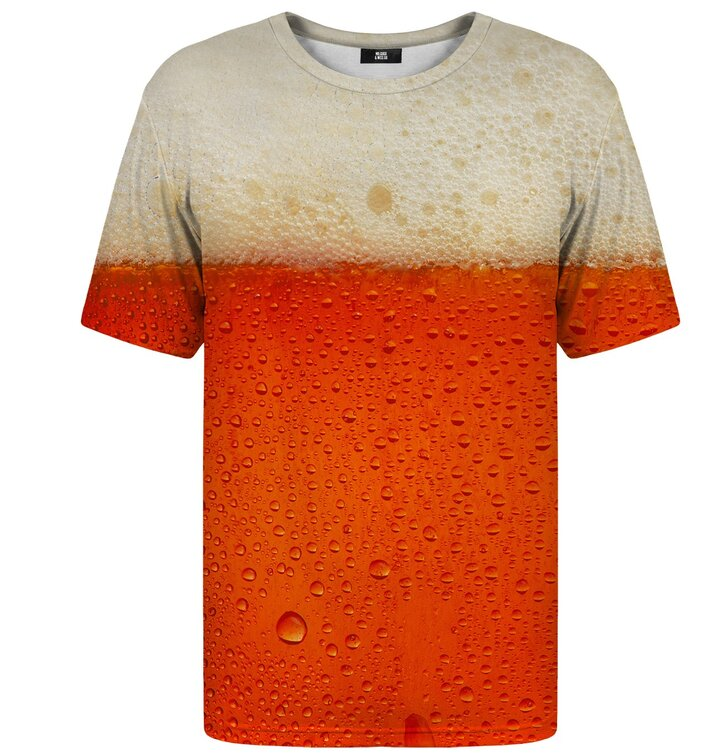 T-shirt with Short Sleeve Red Beer