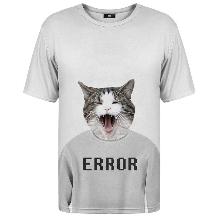 T-Shirt mit kurzen Ärmeln Error