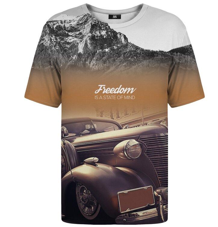 Tričko s krátkym rukávom Freedom