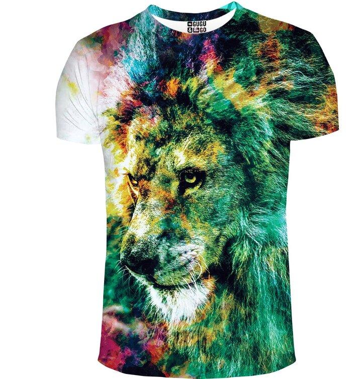Tričko s krátkym rukávom Kráľ farieb