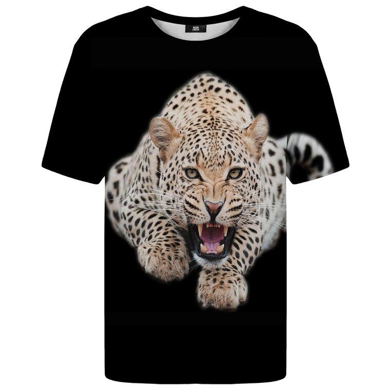 Tričko s krátkym rukávom Leopard