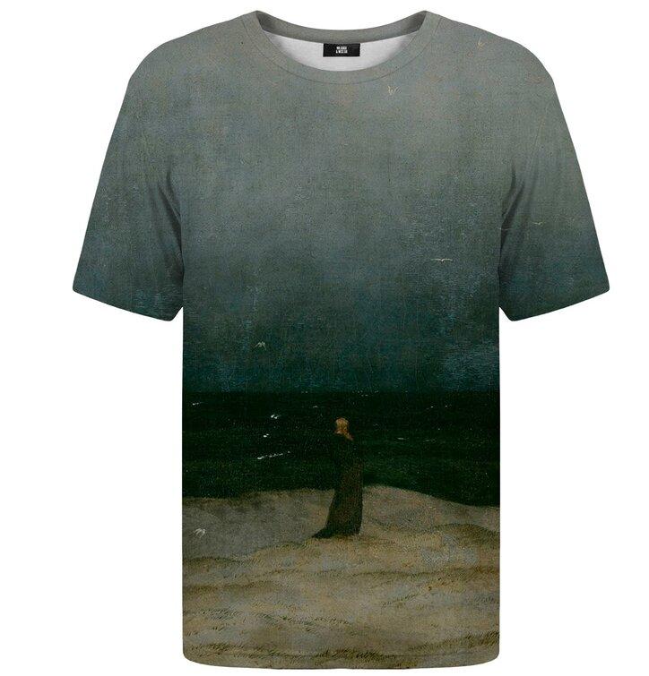 Tričko s krátkym rukávom Mních pri mori