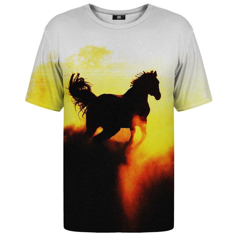 324f93d1311b Výnimočný darček od Dedoles Tričko s krátkym rukávom Mustang