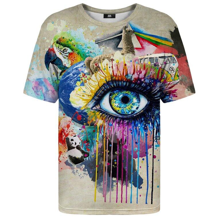 Tričko s krátkym rukávom Myšlienky a sny