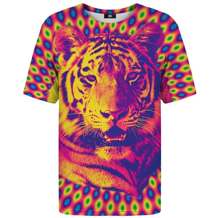 c2bfa15838f3 Hľadáte originálny a nezvyčajný darček  Obdarovaného zaručene prekvapí  Tričko s krátkym rukávom Šialený tiger