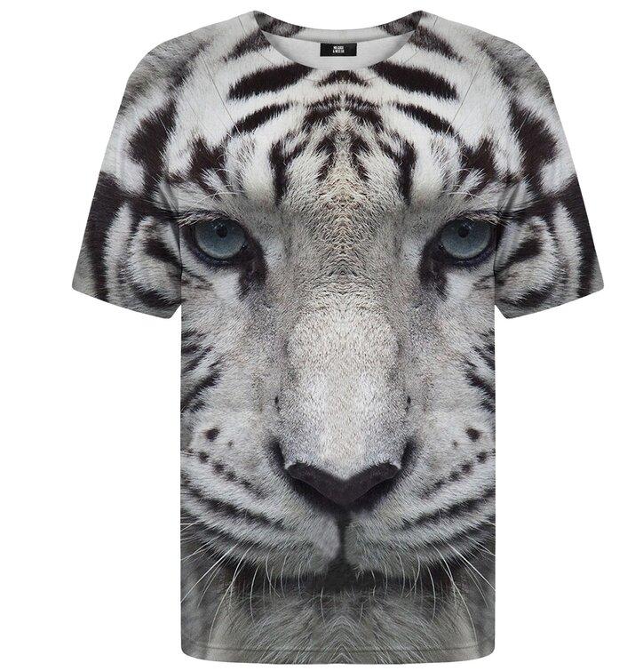 a16d26025368 Hľadáte originálny a nezvyčajný darček  Obdarovaného zaručene prekvapí  Tričko s krátkym rukávom Tiger biely