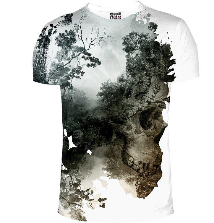 Rövid ujjú póló Haldokló természet