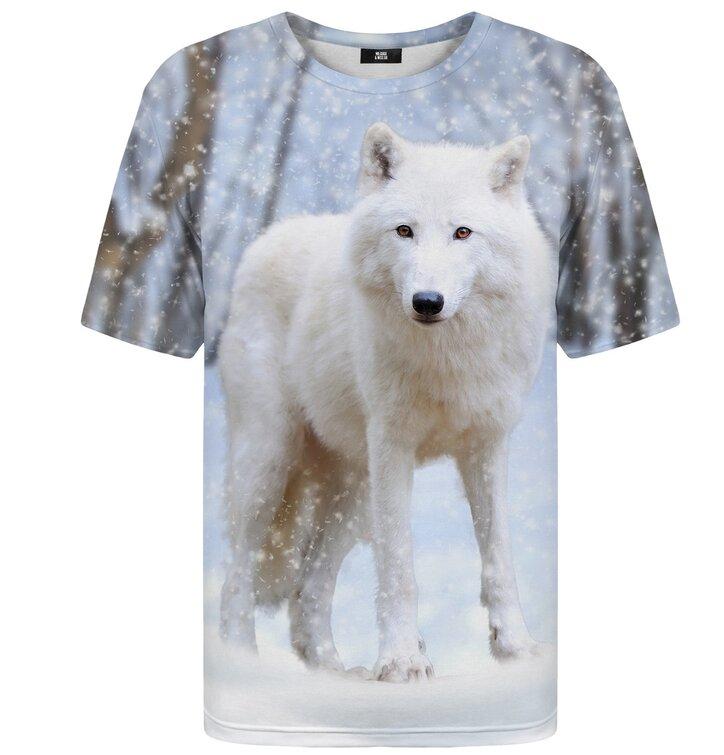 T-Shirt mit kurzen Ärmeln Polarwolf