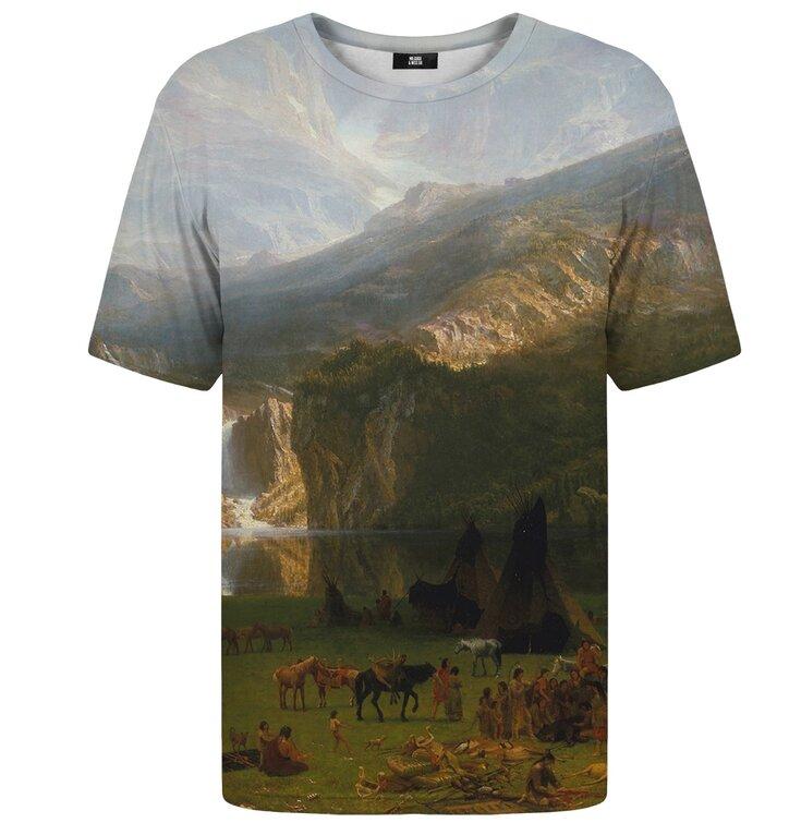 Tričko s krátkym rukávom Vrchy skalnatých hôr