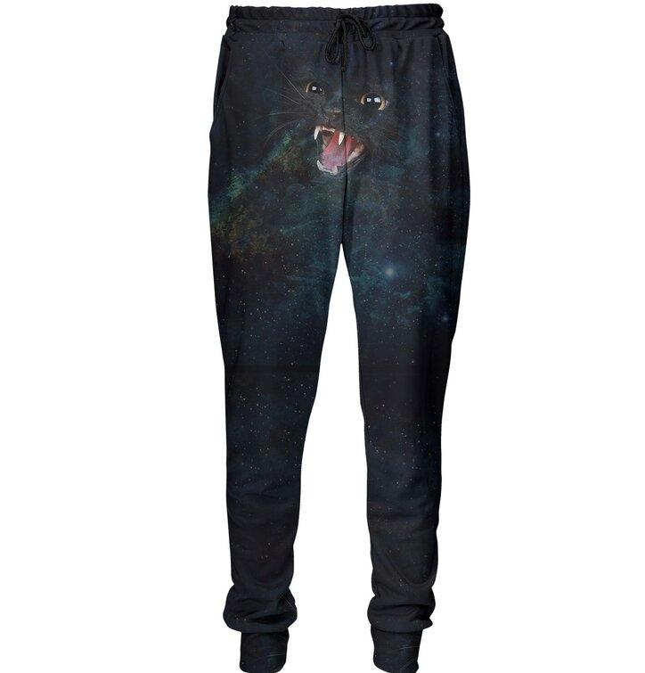 Unikátne tepláky aladinky Divoká galaktická mačka