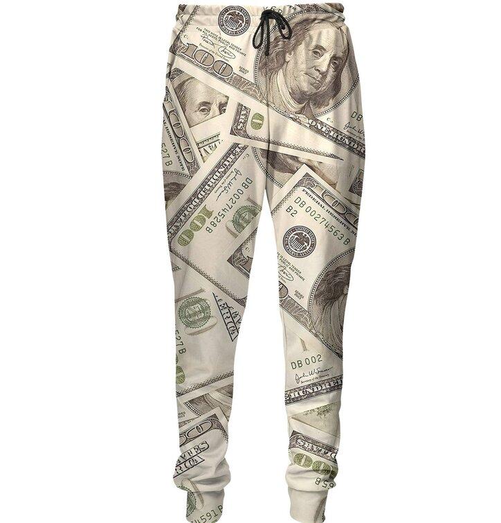 Unikátne tepláky aladinky Doláre