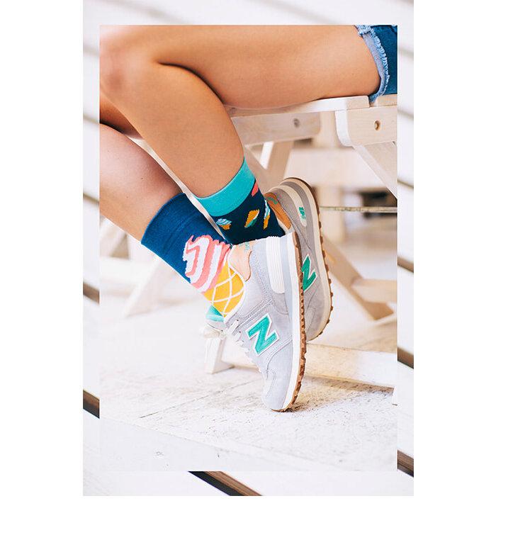 3e843ab08e5 pro dokonalý a originální outfit Veselé ponožky Zmrzlina