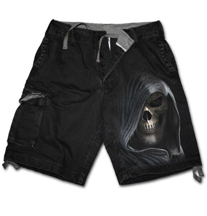 Potěšte se tímto kouskem Dedoles Pánské kalhoty - krátké s motivem Temnota acb245e8ad