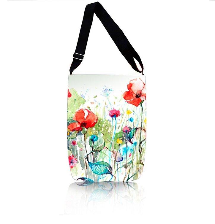 Cross Body Handtasche Easy - Frühlingswiese