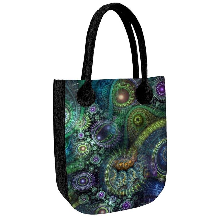 City Antracit Shoulder Handbag - Nirvana