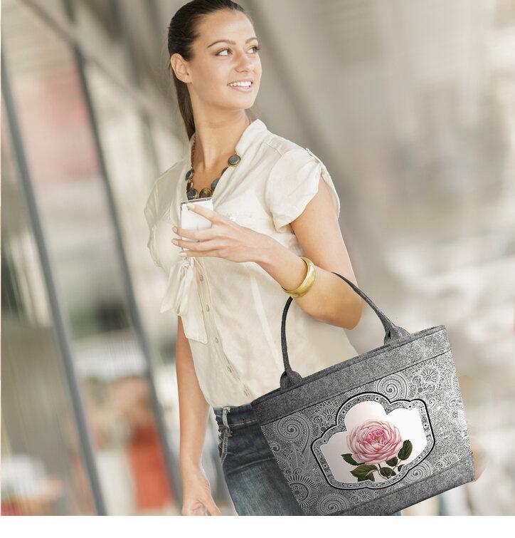 0734c003a094 Kiárusítás Női filc táska Polo Nirvana · Szerezzen magának örömet ezzel a Dedoles  darabbal ...