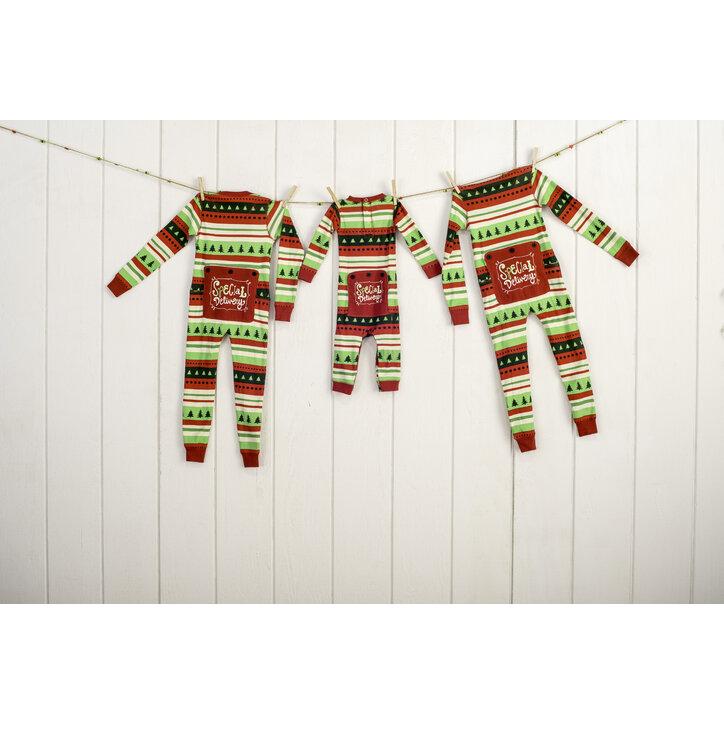 Eredeti ajándék a Dedolestől Egyrészes Gyermek Pizsama-Karácsonyi Kényelem-  Gyermek f83320c85b