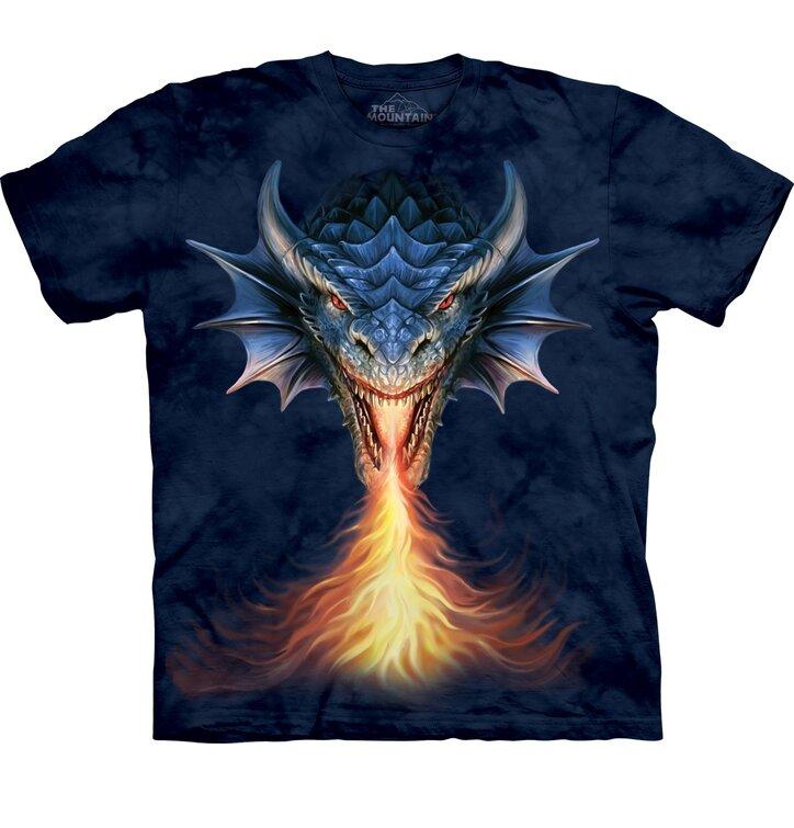 Dětské tričko s krátkým rukávem Rozzuřený drak