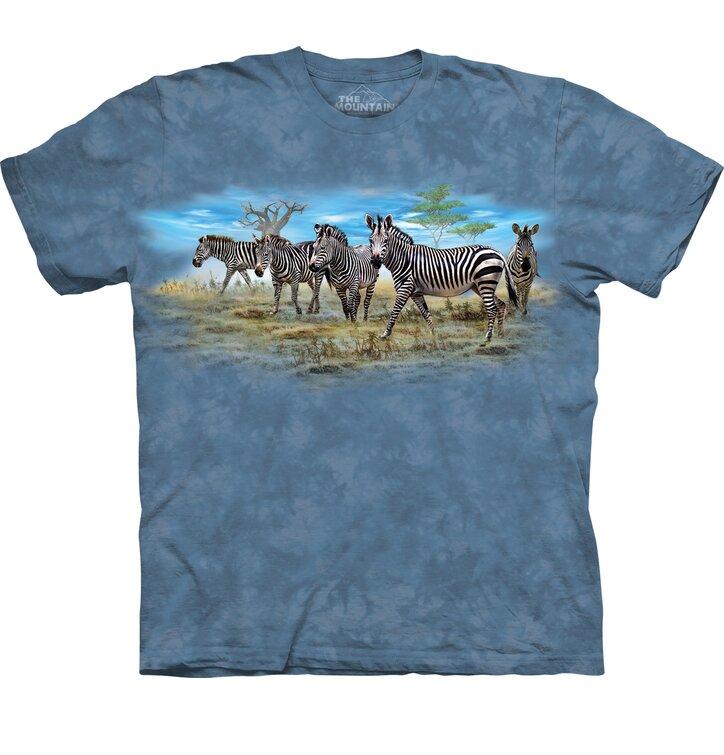 2ebfcb7248db Obrázok produktu Detské tričko s krátkym rukávom Zebry
