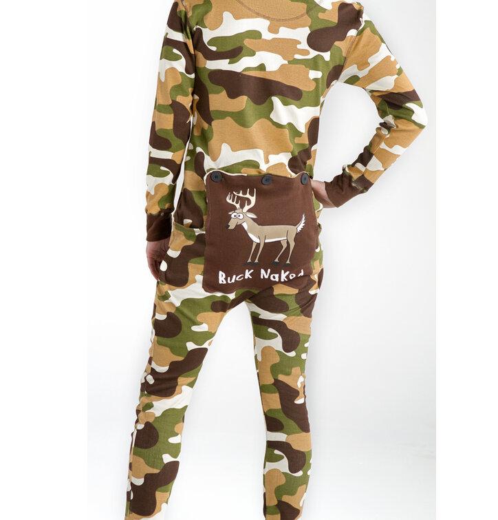 Eredeti és szokatlan ajándékot keres  a megajándékozottat garantáltan  meglepi Terepmintás kezeslábas pizsama 1b9f9542c8
