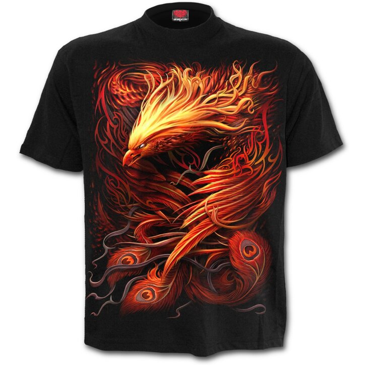 T-Shirt with Short Sleeve Phoenix